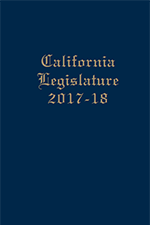 California Joint Legislative Handbook, 2017-18